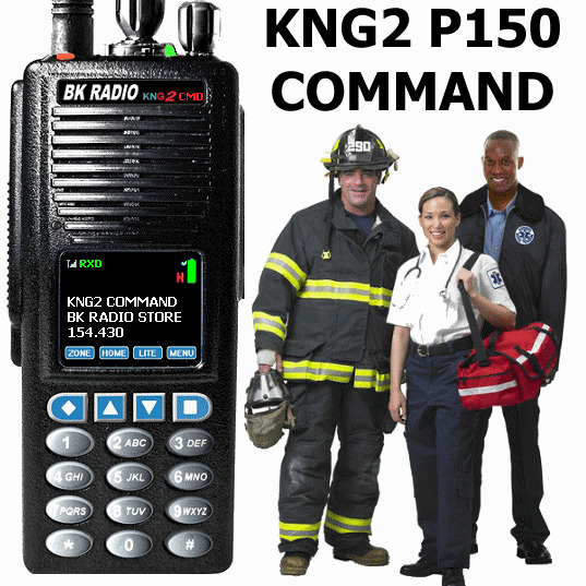 Bendix King KNG2-P150CMD WITH ANT AND CLAMSHELL BK CAL FIRE. Available Now for 1800.00