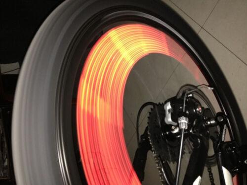 12PCS Cool Clip Spoke Rim Reflective Wheel Tube Strip Light Reflector Bicycle
