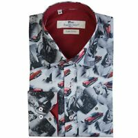Claudio Lugli Marilyn Monroe Print Mens Shirt