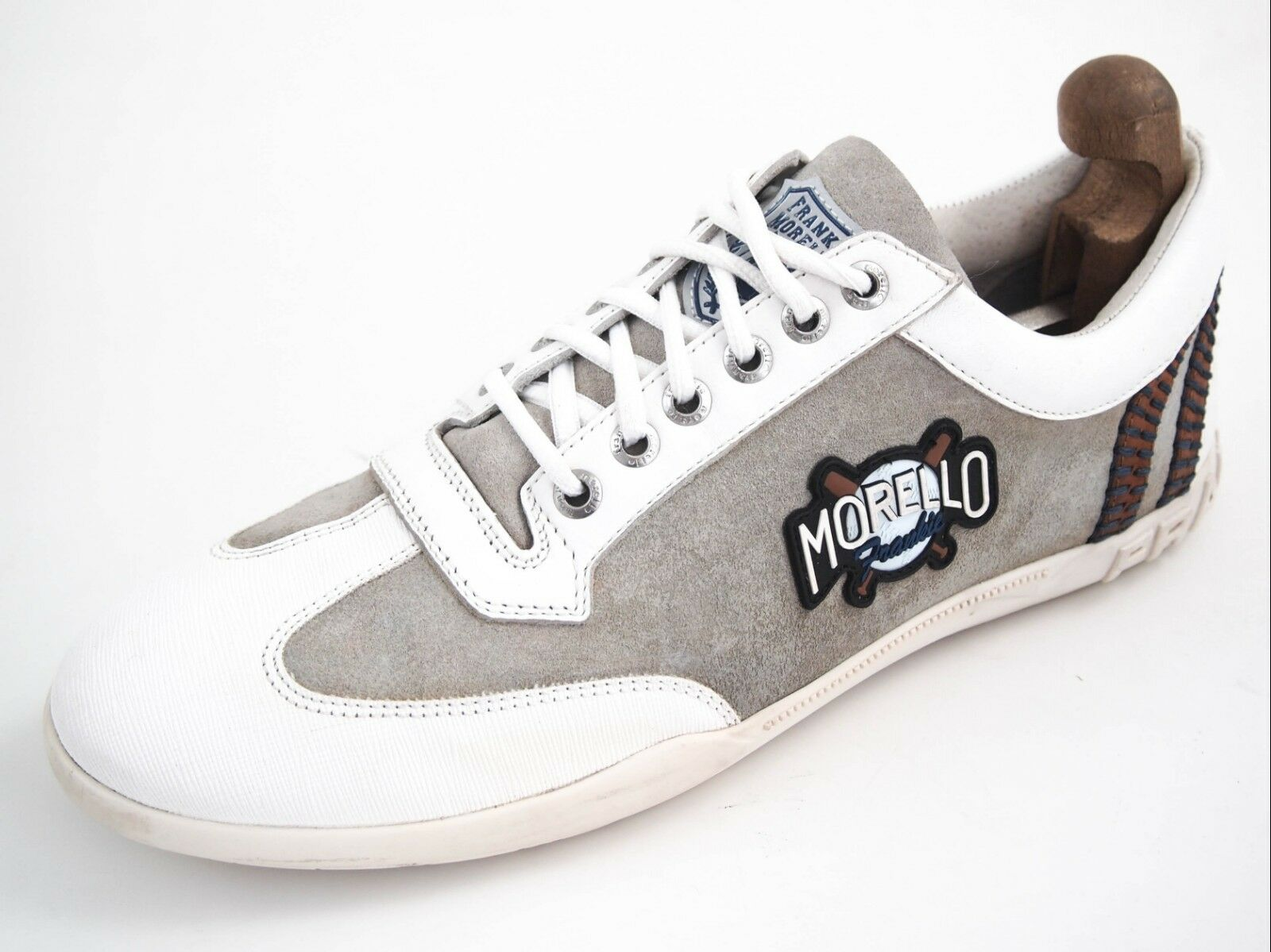 Frankie Morello fashion sneakers,Blancleather, homme ChaussuresTaille US 11 EU 44210