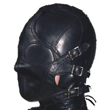 New Bondage Fetish Faux Leather Multiplex Hood Restraint. Free Postage 495