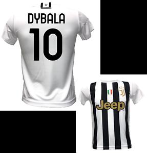 Dettagli su MAGLIA DYBALA 10 PRODOTTO UFFICIALE JUVENTUS STAGIONE 2020-2021