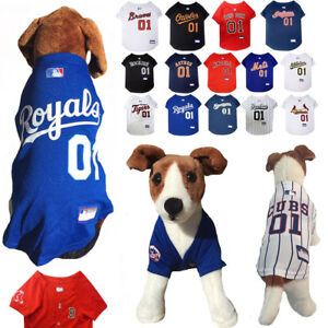 MLB Fan Pet Gear Dog JERSEY Dog Shirt for Dogs -PICK YOUR TEAM XS ... 7554f187f