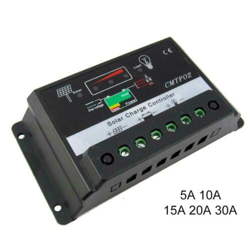 5A-30A MPPT Solar Panel Battery Regulator Charge Controller 12V Auto Switch AL