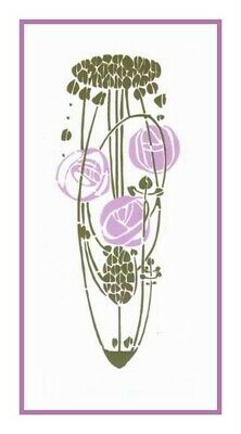 Part Seen Part Imagined Charles Mackintosh Counted Cross Stitch Chart Pattern