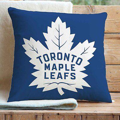 Custom Toronto Maple Leafs Pillows Car Sofa Bed Home Decor Cushion Pillow Case Ebay