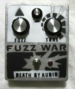 Used Death By Audio Fuzz War Guitar Effects Pedal