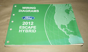 2012 ford escape wiring diagram 2012 ford escape hybrid evtm wiring diagrams service manual book 2012 ford escape trailer wiring diagram 2012 ford escape hybrid evtm wiring