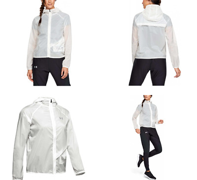 Onyx White//Black//Reflective 112 Mujer Blanco S Under Armour UA Qualifier Storm Packable Jacket Chaqueta