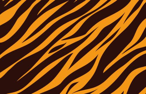 Tiger Print Black Ballpoint Pen Wild Big Cat Pattern Mum Sister Gift #15627