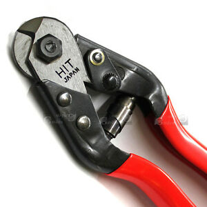 HIT 190mm Cable Wire Cutter 5mm wire,4mm steel wire,2.5mm piano wire ...