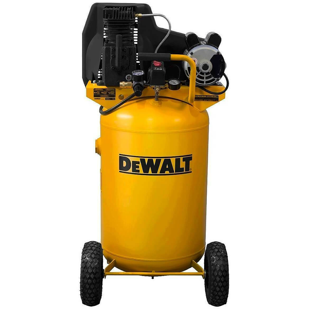 New Dewalt DXCMLA1983054 1.9-HP 30-Gallon (Belt-Drive) Dual Voltage Air Compressor.