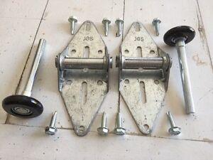 2 1 Garage Door Hinge Amp 2 2 Quot Nylon 11 Ball Bearing Roller