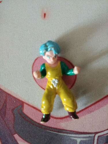 Figurine Trunks Dragon Ball Z DBZ Bandai Toys BS STA figure AB rare Jaune Yellow