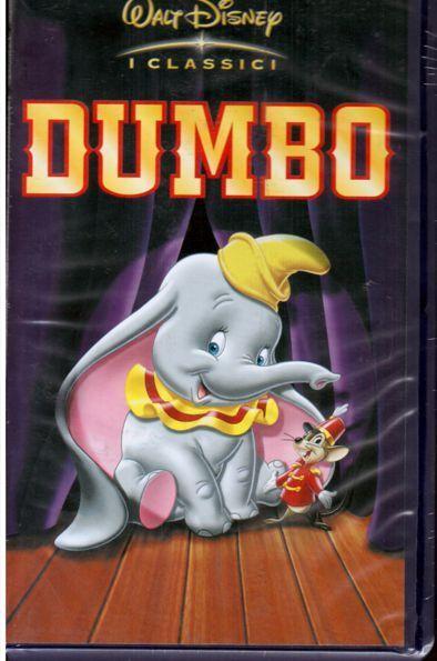 DUMBO - I Classici  WALT DISNEY  (1941) VHS  NUOVA SIGILLATA