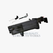 BMW Radiator Coolant Reservoir Expansion Tank + Sensor + Clip Premium 781