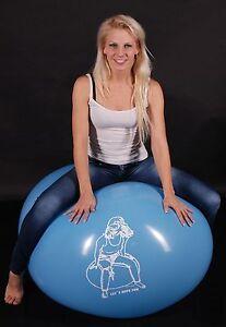 "Ballon LOONER 10 Riesen Riesen Luftballons 100cm Ø /""LET´S HAVE FUN/"" Looner"