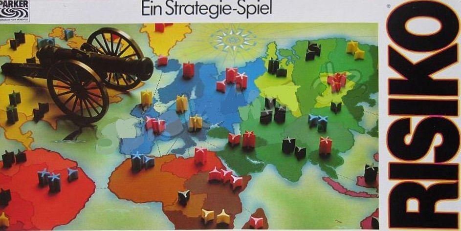 Risiko Parker 1982 - Das grosse Strategiespiel. Absolut neu und ungespielt.