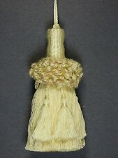"Conso Empress 22949 W95 VANILLA PINK ROSE QUARTZ Decorative 5/"" Tassel 5/"" Loop"