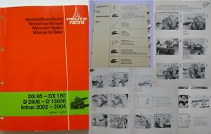 Werkstatthandbuch Deutz Traktor Hydraulik K45.2 D13006 .