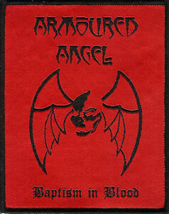 Armoured-Angel-Baptism-Patch-Destroyer-666-Mortal-Sin-Slaughter-Lord-Metal-GOTH