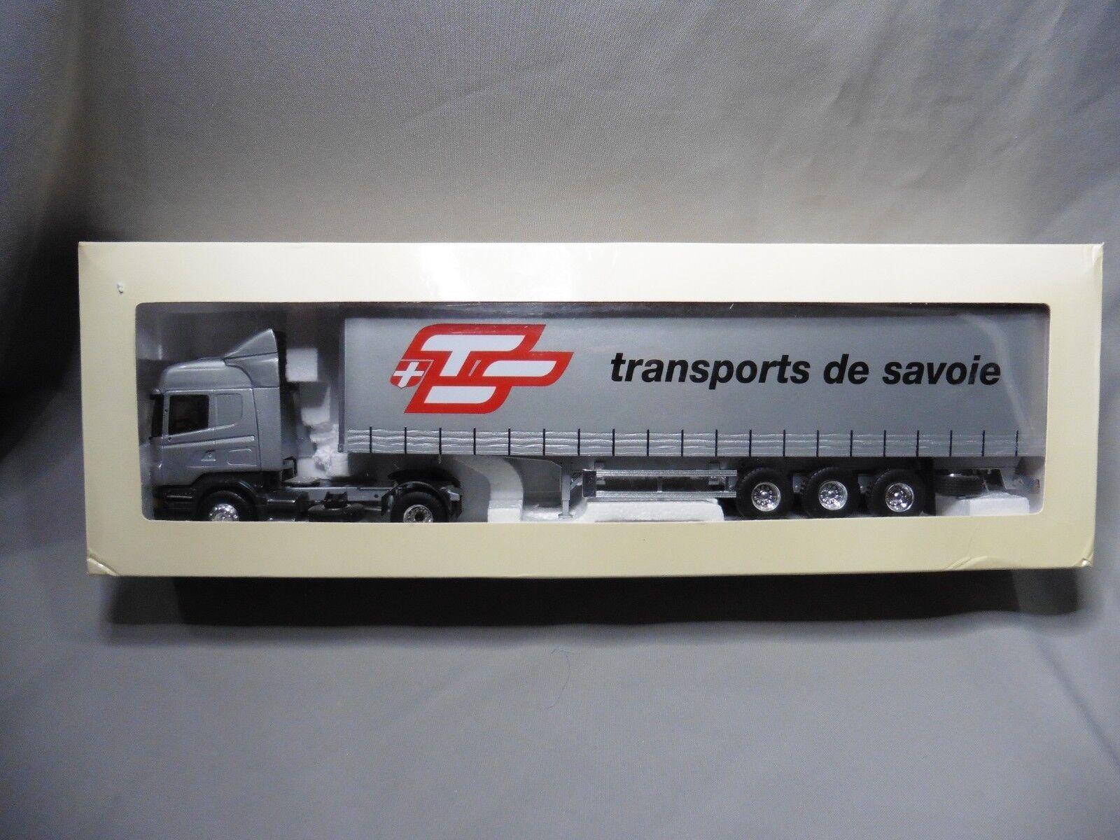 DV8720 ELIGOR 1  43 SCANIA SERIE R TRANSPORTER DE SAV 113430 HORS COMMERCE