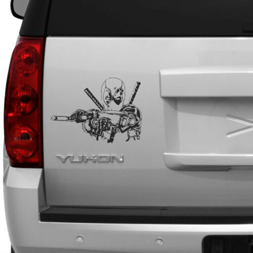 car  vinyl decal sticker Deadpool