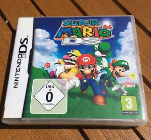 Jeu Super Mario 64 DS (Nintendo DS, 2005)  Complet