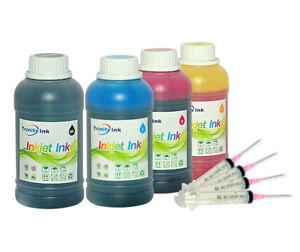 4x10oz-KIT-inchiostro-ricarica-Premium-per-Epson-ET-2550-EcoTank-Stampante-Expression