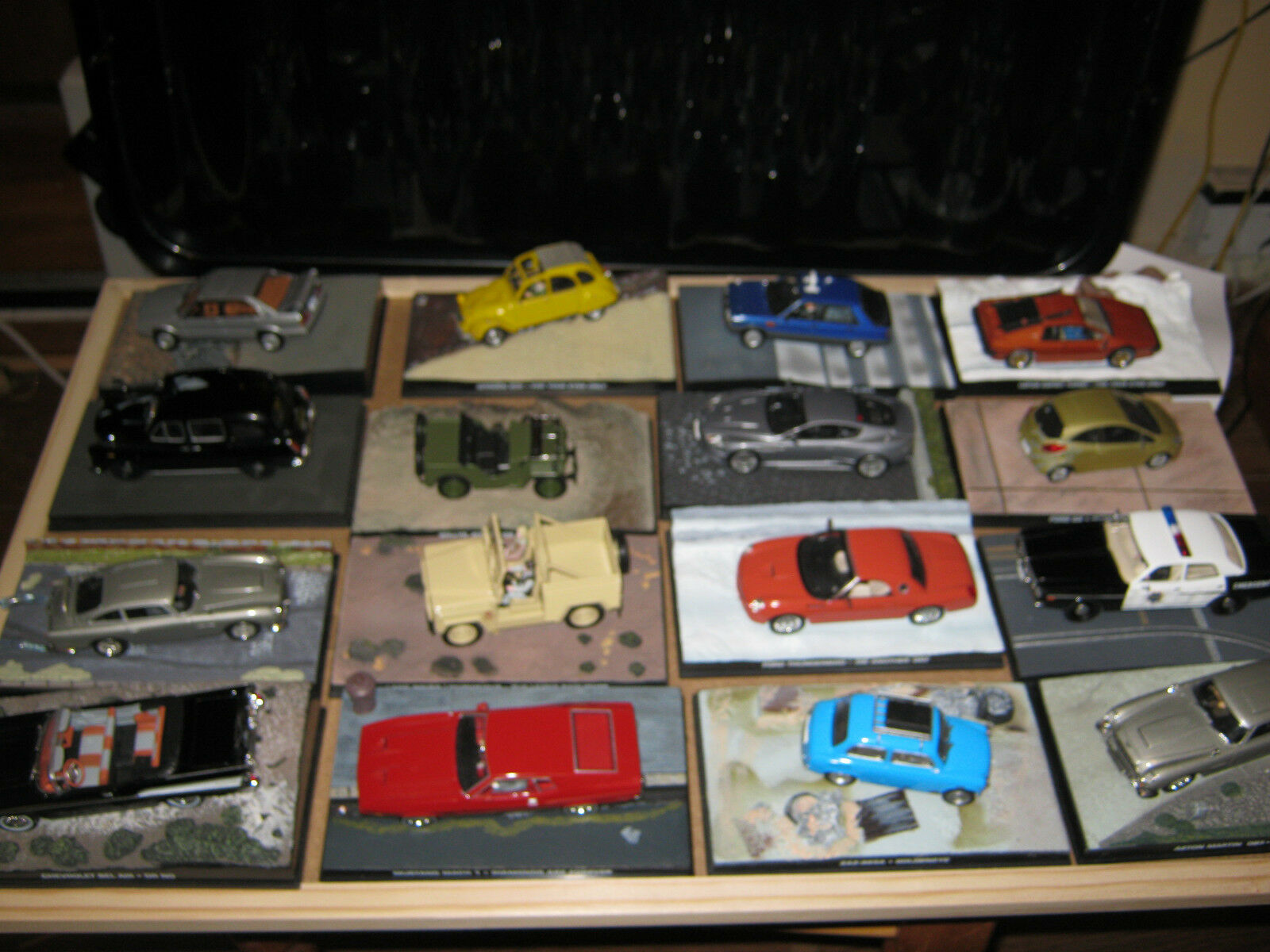 James Bond Car Collection 50 x 007 Die cast models, all in Mint condition