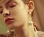 Fashion-Charm-Bride-Earring-Rhinestone-Color-Tassel-Drop-Long-Ear-Stud-Earrings thumbnail 21