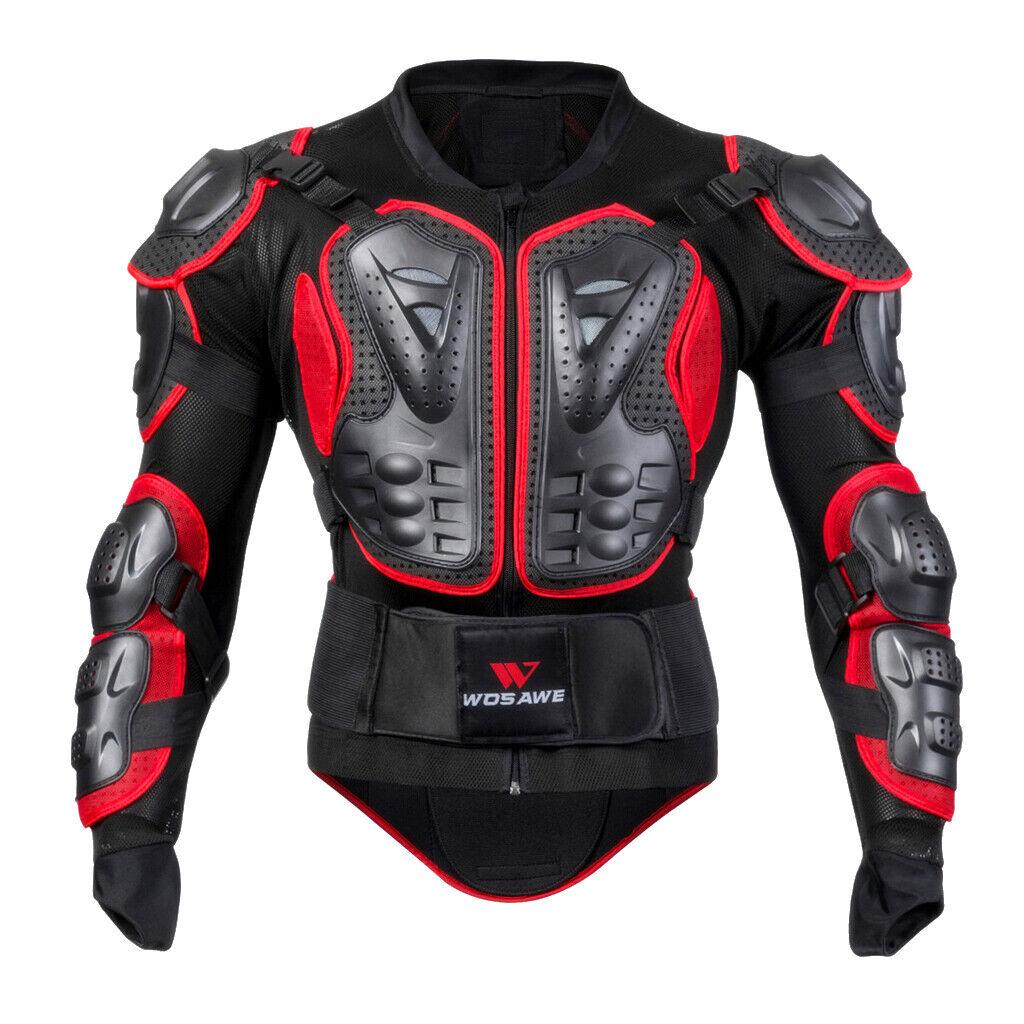 Armatura Giacca Prossoettore Corpo Maglia Costume Per Motociclismo Pattinaggio