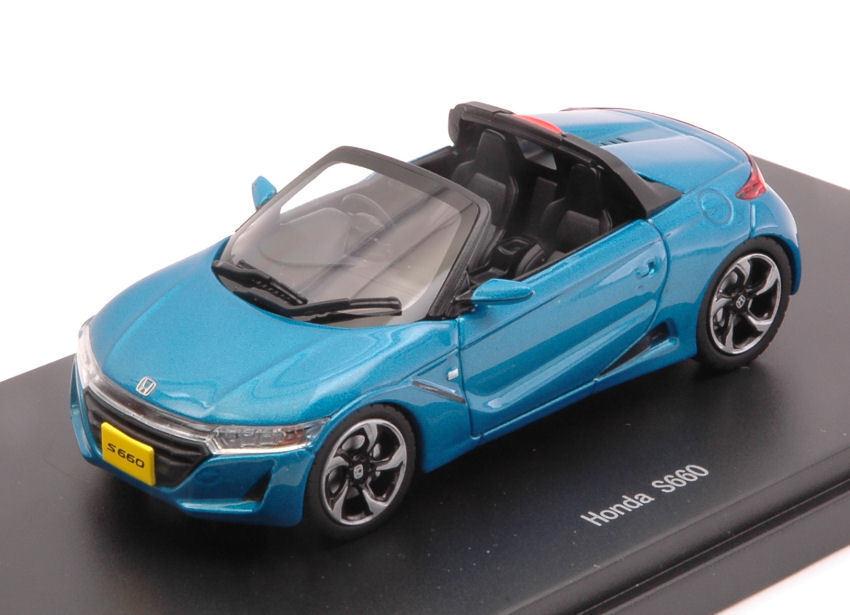 Honda S660 2015 bleu  1 43 Model 45360 EBBRO  articles de nouveauté