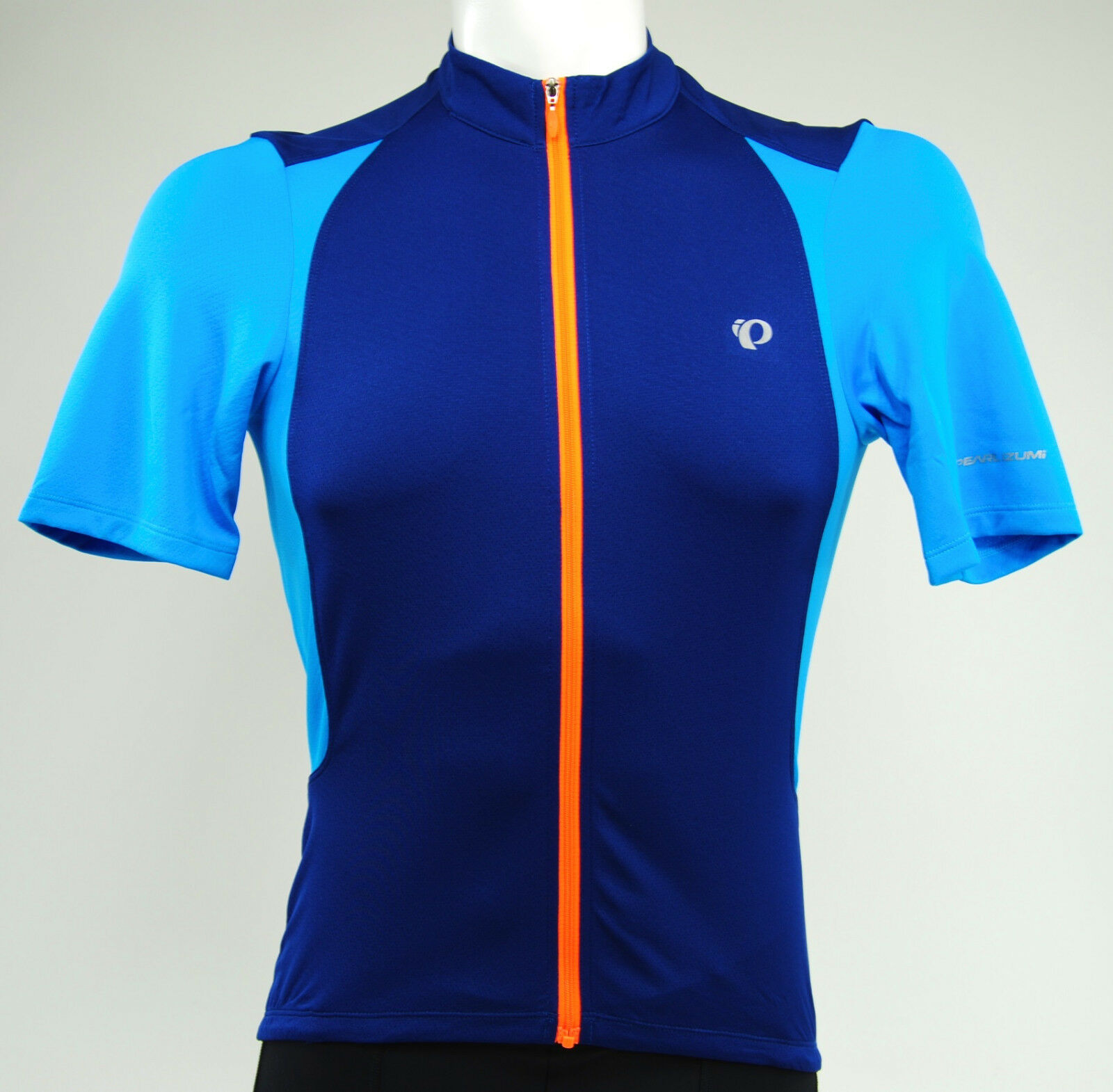 Pearl Izumi 2017 Select Pursuit Cycling Jersey, bluee Depths Bel Air bluee, Large