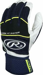 RAWLINGS-WORKHORSE-COMPRESSION-STRAP-BATTING-GLOVES-WORKCSBG-ADULT-SMALL-NAVY