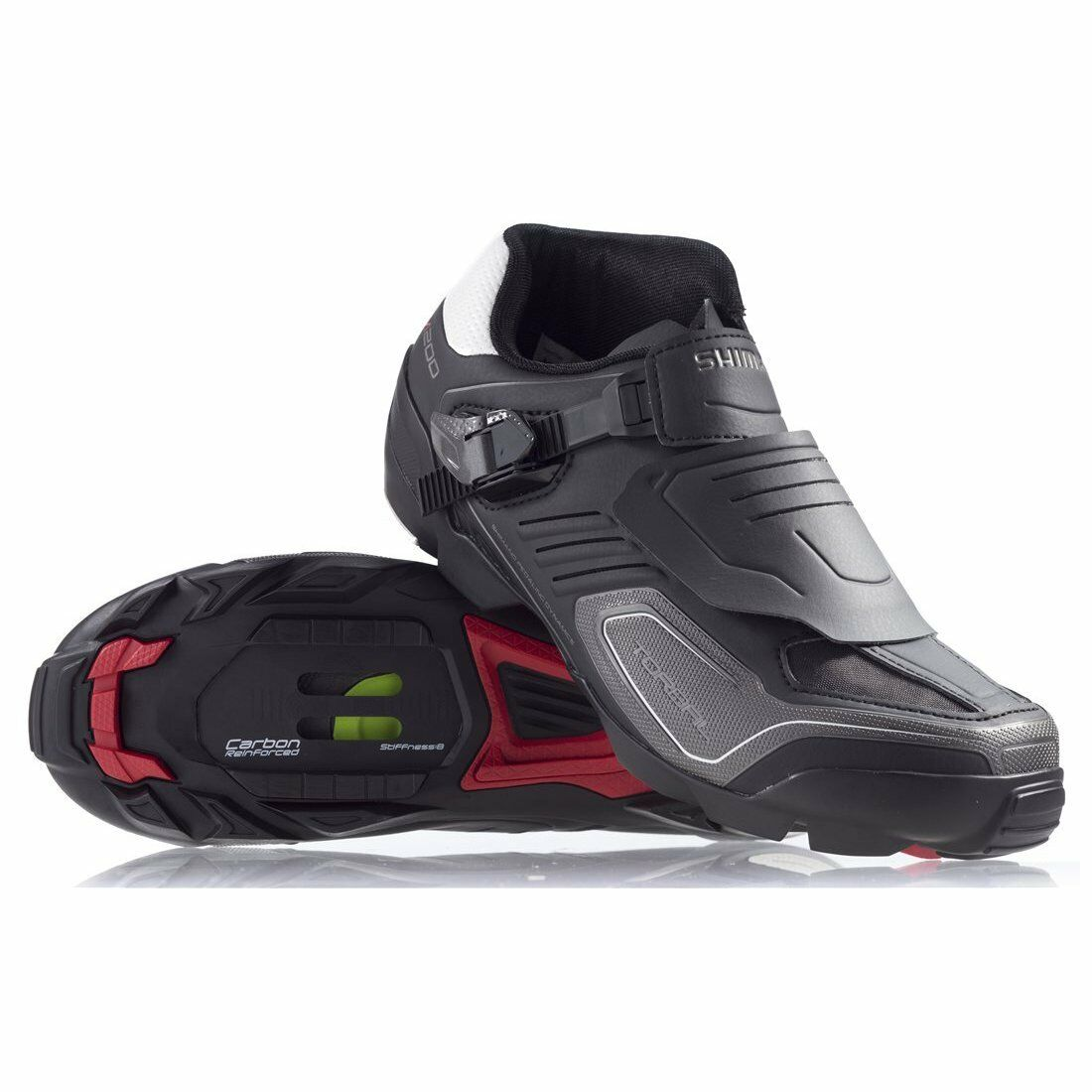 Shimano SH-M200 MTB SPD Enduro Carbon  Cycling shoesMountain Ankle Predection  free delivery