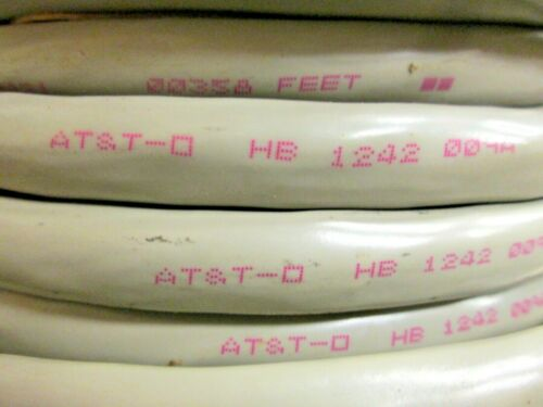 9 Pair 24 Gauge Overall Shielded Paired Cable 18C AT/&T Branded 10 Ft