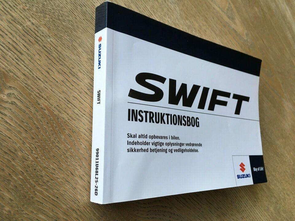 Instruktionsbog, Suzuki Swift