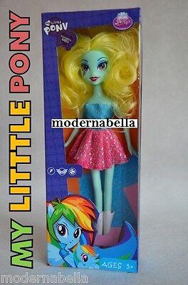 Attivo Bambola In Scatola Pony Equestria,rainbow Dash ,blu, Con Scarpe , Da Pettinare Per Vincere Una Grande Ammirazione