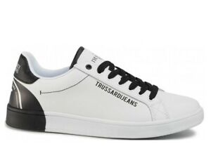 Scarpe-da-uomo-Trussardi-Jeans-77A00240-casual-sportive-basse-sneakers-estive