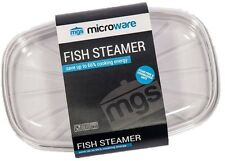 Microware Microwave Fish Steamer BPA Free Made in the UK