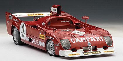 Alfa Romeo 33 TT12 Winner 1000 Km Spa 1975 Pescarolo - 1 18 AUTO ART 87503