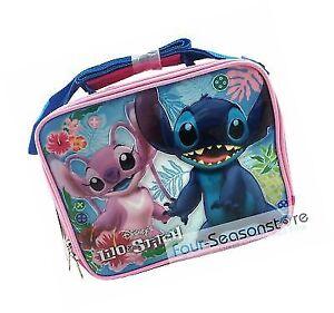 b5bcca219a38 Disney Stitch Angel Pink Insulated Lunch Bag