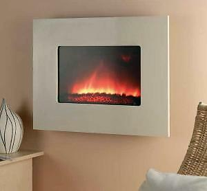 Cream-Marble-Remote-Electric-Wall-Hung-Mounted-Fire-Surround-Fireplace-Heater