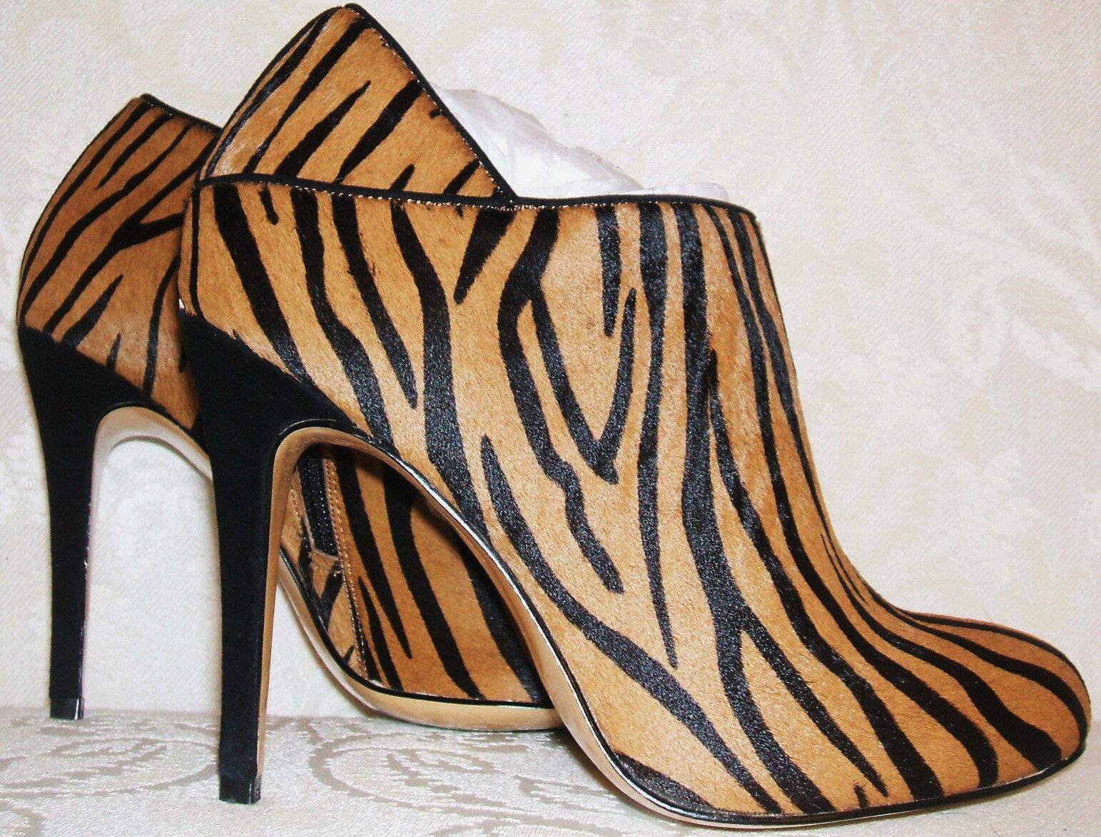 PVP  Nuevo Dune Talle 3 - 6 Tigre Tigre Tigre Leopardo Pony Piel Pelo Napoli Botines Zapatos  Felices compras