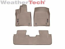 WeatherTech Custom Floor Mat FloorLiner for Lexus RX - 2016-2017 - Tan