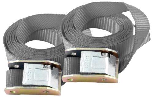 150kg Zubehör Befestigung Sicherung Paar Büse Spanngurte 2m max