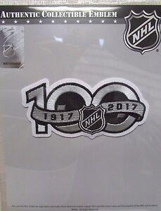 NATIONAL HOCKEY LEAGUE NHL 100th ANNIVERSARY CENTENNIAL HOCKEY JERSEY PATCH