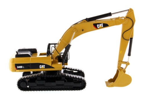 CAT Diecast Vehicle 1/50 340D L Hydraulic Excavator Model CATERPILLAR 85908 Toys