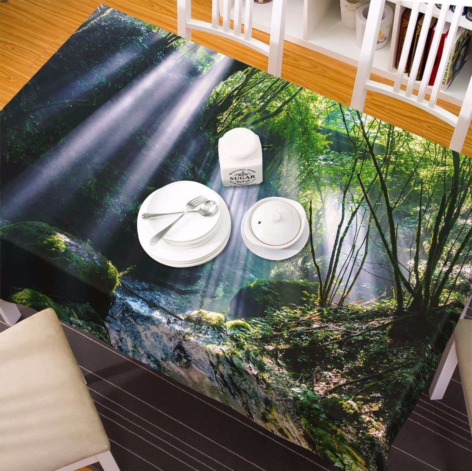 3D Soleil 6 Nappe Table Cover Cloth fête d'anniversaire AJ papier peint Royaume-Uni Citron